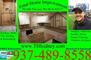 Roofing, Kitchens, Bathrooms, Painting, Power washing, Decks, Fences